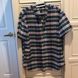 Men's short sleeve JCrew Button Down shirt
